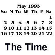 Time it was