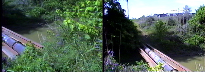 Two Views Of The Pipe